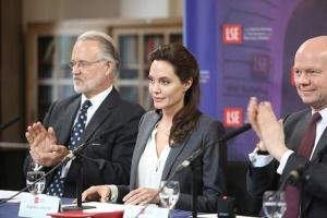 Angelina Jolie at the LSE